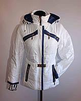 Женская весенняя куртка 7623 Белый, 44