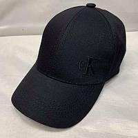 Бейсболка унисекс Calvin Klein реплика Черная