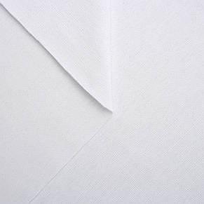 Трикотаж Рибана однотонная, белая, качество пенье. Купить оптом рибану в Украине, фото 2