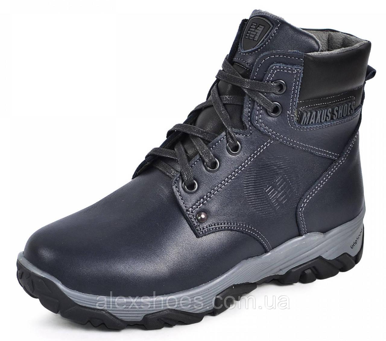 Ботинки подростковые из натуральной кожи от производителя модель МАК106