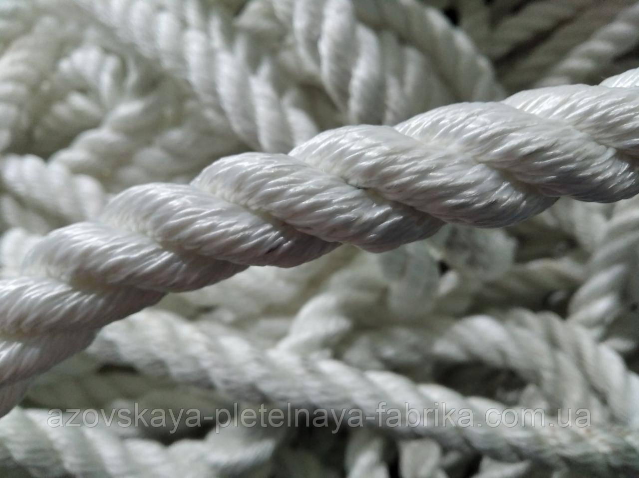 Канат капроновый (полиамидный) 10мм
