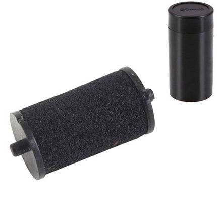 10x Ролик валик красящий чернильный 20мм для этикет-пистолета, картридж, фото 2