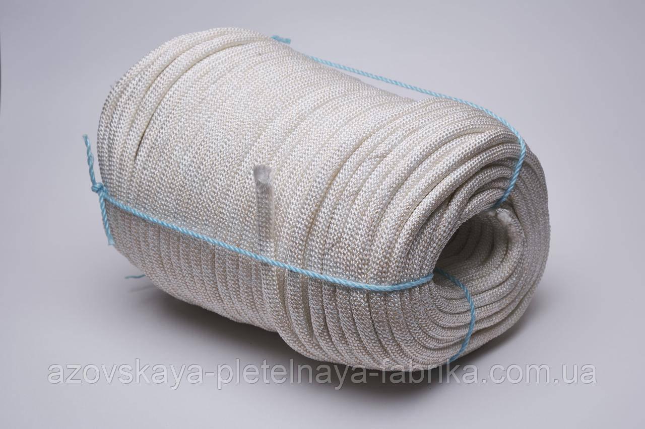 Фал капроновый плетеный 6 мм