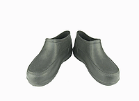 Мужские галоши ПВХ черные, темно-синие, калоши пена, резиновая обувь, обувь EVA, обувь пенка,