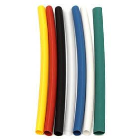 140x Термоусадочная трубка, термоусадка 1-1.5мм 7 цветов, набор
