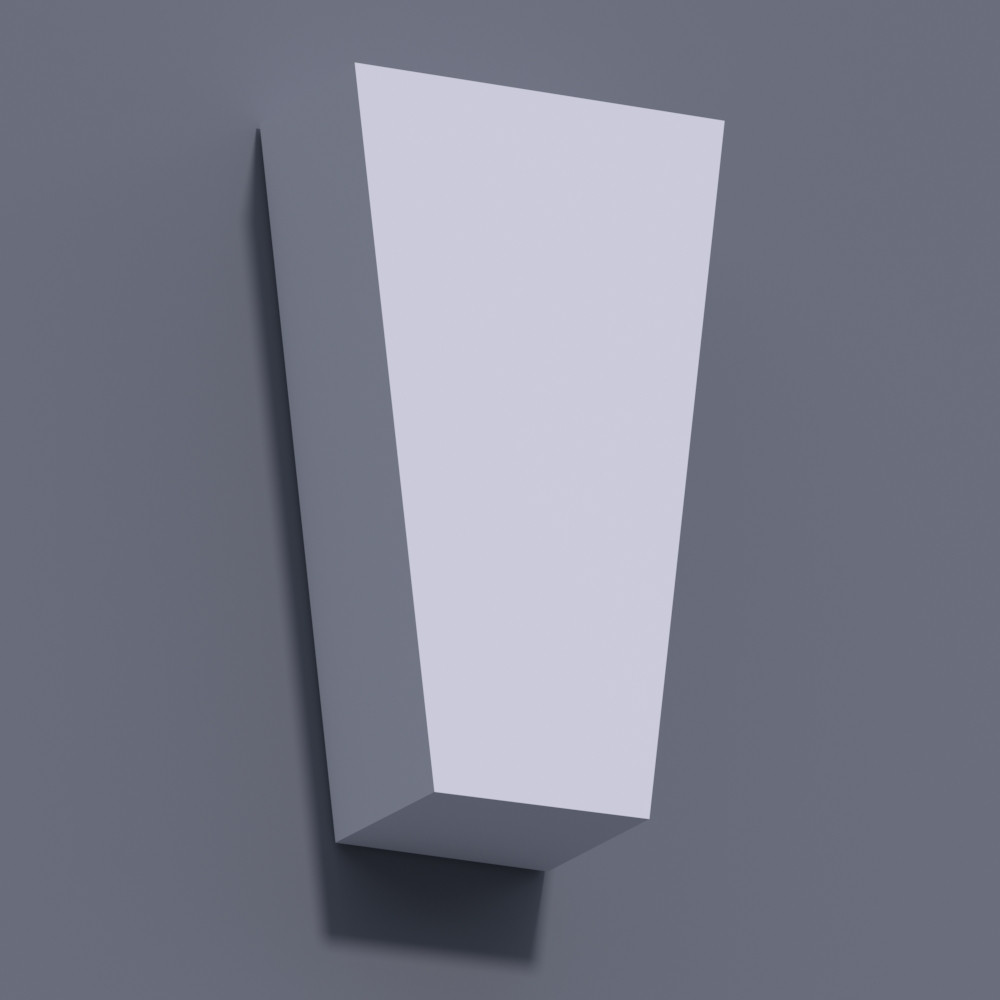 Замковый камень ЗК 1 (h 205)
