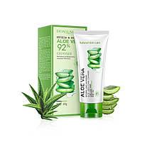 Пенка для умывания BIOAQUA Aloe Vera 92% Cleanser 100г Биоаква с алое вера Оригинал