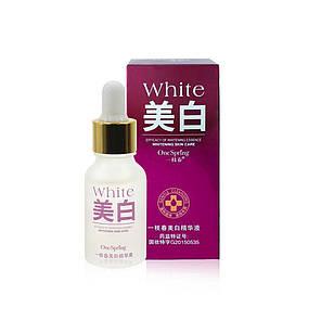 Відновлююча сироватка для обличчя з екстрактом хризантеми One Spring White 15 мл Оригінал, фото 2