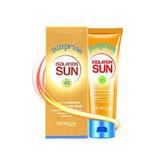 Солнцезащитный водостойкий крем BIOAQUA Sun Screen 45+SPF 80 гр. для тела от солнца увлажнение кожи