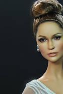 Колекційна лялька Барбі Дженніфер Лопес Червона Килимова Дорож (Jennifer Lopez Red Carpet Doll) X8287 Mattel, фото 7