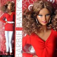 Колекційна лялька Барбі Базова модель /Barbie Basics Model №2 RED Collection, фото 6