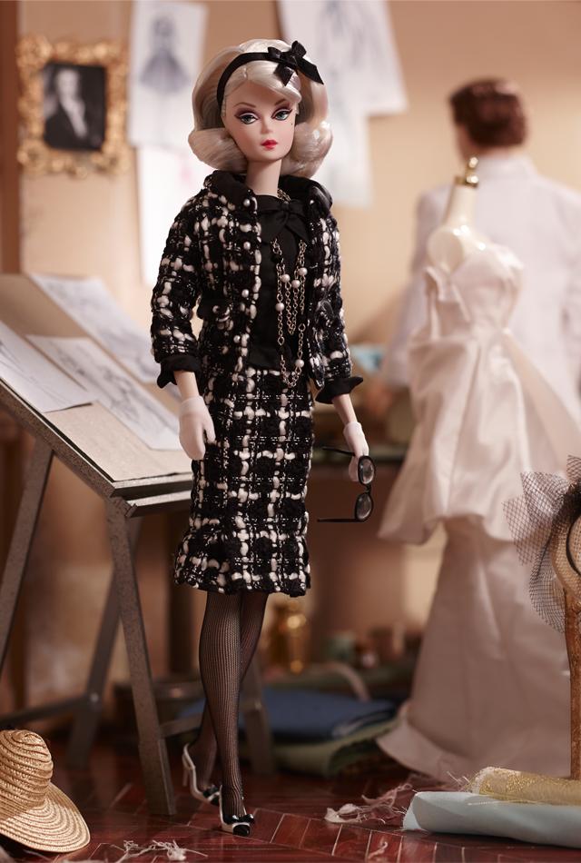 Колекційна лялька Барбі Краса Букле / Bouclé Beauty Barbie Silkstone