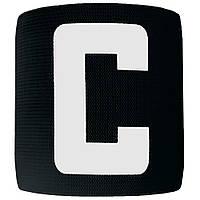 Капітанська пов'язка на липучці SWIFT Capitans Band Senior, чорна (кольори в асортименті)