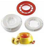 Набор форм для десерта  Пламя 2000 мл (d 240 мм) 2 формы + каттер Silikomart (KIT FLAME)