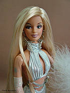 Колекційна лялька Барбі Gone Platinum Barbie Doll, фото 2
