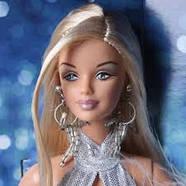 Колекційна лялька Барбі Gone Platinum Barbie Doll, фото 3