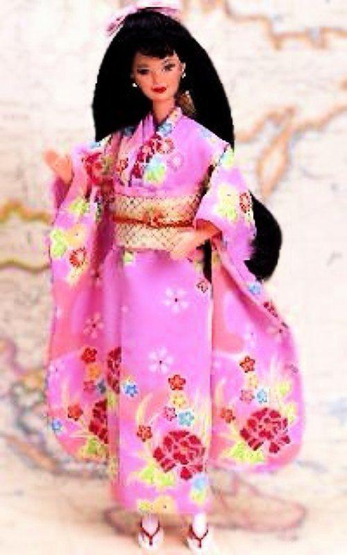 Колекційна лялька Барбі Japanese Barbie Collector Edition 1995