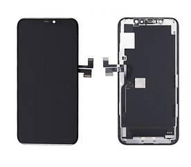 Дисплей для телефона Apple iPhone 11 Pro с сенсорным стеклом (Черный) Оригинал