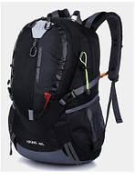 Городской спортивный (велорюкзак) рюкзак FLAMEHORSE на 35литров Черный, фото 1