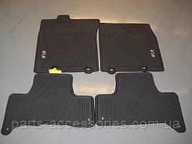 Toyota FJ Cruiser 2011-14 килимки гумові 4 штуки нові оригінал