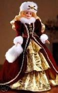 Кукла Барби коллекционная Праздничная 1996 / Mattel Happy Holidays Barbie Christmas 1996, фото 2