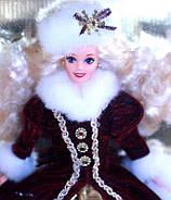Кукла Барби коллекционная Праздничная 1996 / Mattel Happy Holidays Barbie Christmas 1996, фото 5