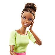 Кукла Барби Подвижная артикуляция 22 точки (Barbie Made to Move Doll, Yellow Top), фото 3