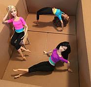 Кукла Барби Подвижная артикуляция 22 точки (Barbie Made to Move Doll, Yellow Top), фото 4
