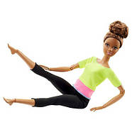 Кукла Барби Подвижная артикуляция 22 точки (Barbie Made to Move Doll, Yellow Top), фото 5