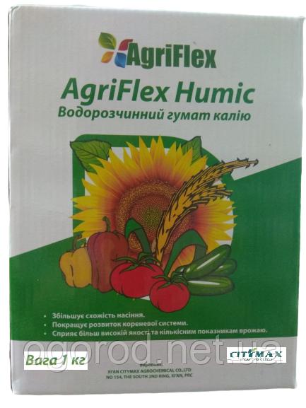 Агрифлекс Хьюмик Тотал гумат концентрированный 1 кг