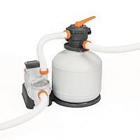 Песочная фильтрационная установка для бассейна Bestway Intex 58486 FlowClear (9,8 м3/ч). Фильтр для бассейна