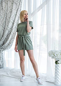 Комбинезон летний женский олива