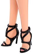 Коллекционная кукла Барби Сияние города Кружевное платье - City Shine Barbie Doll - Lace Dress (CFP38), фото 5
