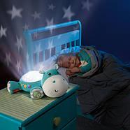 """Музичний нічник-проектор Fisher-Price """"Гіпопотам"""" CGN86, фото 4"""