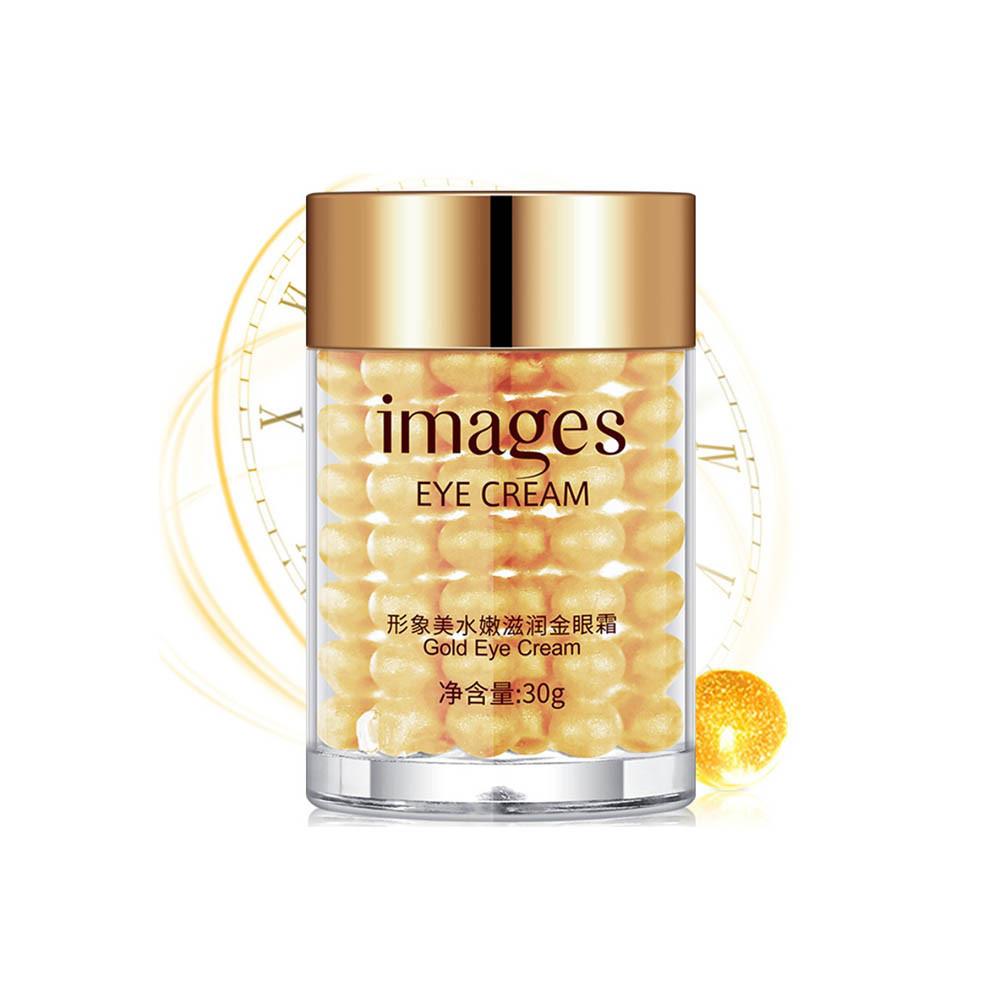 Крем для кожи вокруг глаз IMAGES Bright and Moisture Gold Eye Cream золотой 30 г