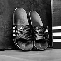 """Сланцы Adidas """"Черные"""", фото 2"""