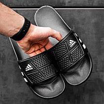 """Сланцы Adidas """"Черные"""", фото 3"""