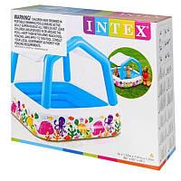 Надувной детский бассейн с крышей, фото 1