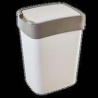 """Ведро для мусора """"Евро"""" 10 литров, фото 1"""