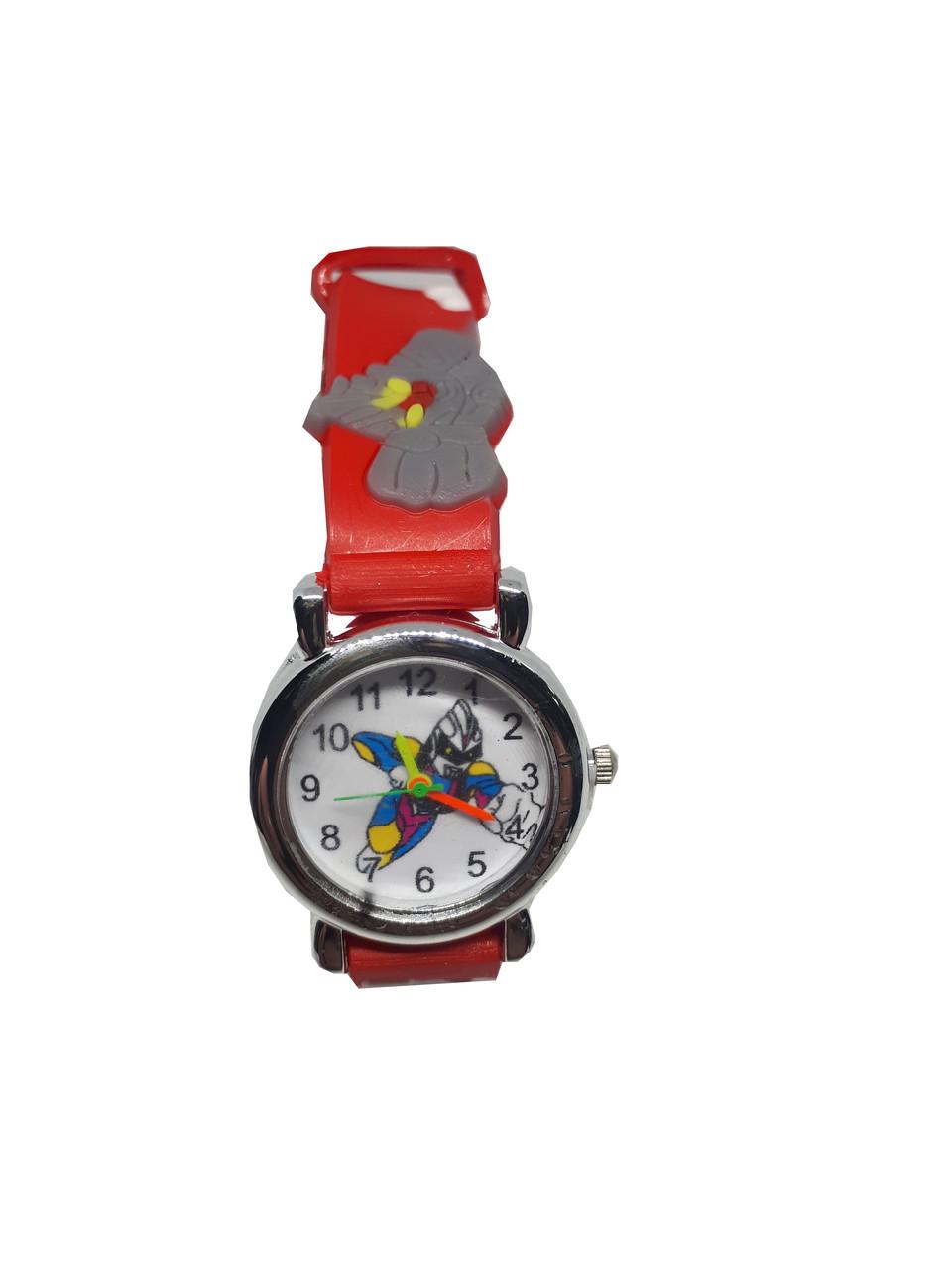 Часы детские Робот Красный опт