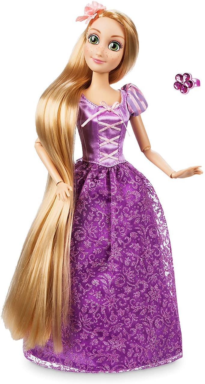 Кукла Disney Princess Рапунцель с кольцом и аксессуарами Классическая 964236