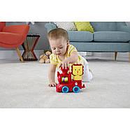 Розвиваюча іграшка Fisher Price Поїзд-пірамідка Веселий Левеня DRG33, фото 6