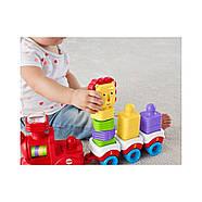 Розвиваюча іграшка Fisher Price Поїзд-пірамідка Веселий Левеня DRG33, фото 7