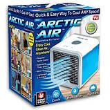 Мобильный кондиционер Arctic Air, настольный кондиционер, охладитель воздуха, мини кондиционер, кондиціонер, фото 8