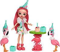 Игровой Набор Кукла Enchantimals Развлечения на природе Праздник Фламинго FCG79