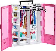 Игровой набор Barbie Розовый шкаф модницы Барби GBK11