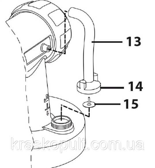 Ремкомплект воздушного клапана для W550, W560, W565, W585, W665