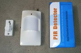 Датчик движения для сигнализации 433 Мгц. Розница-ОПТ. Распродажа ( + 30 % дальности с высунутой антеной)