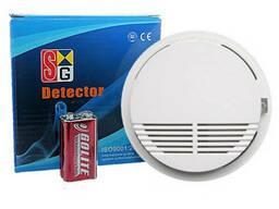 Датчик дыма gsm 433  (противопожарный) для сигнализации! (комплект премиум)