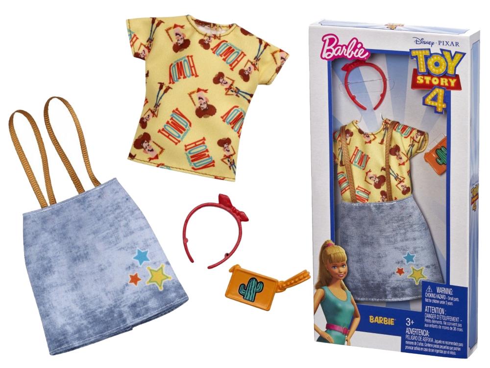 Одежда Barbie Универсальный полный наряд коллаборации История игрушек 4 Шериф Вуди FXK77